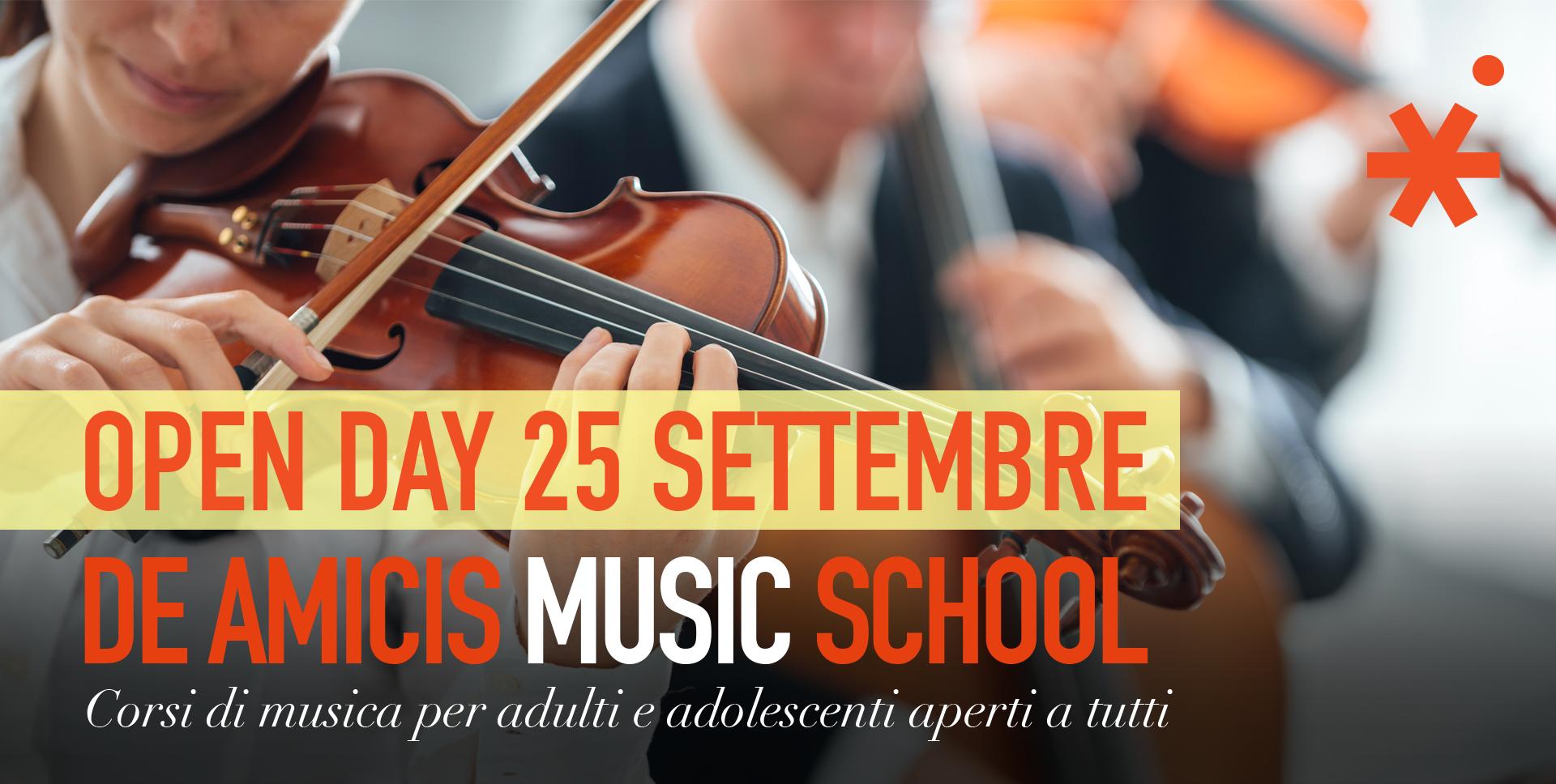 De Amicis Music School Open Day